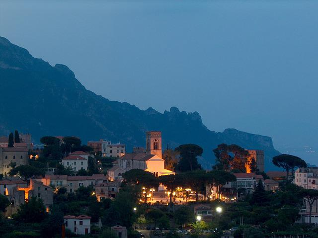 Ravello, Amalfitana, Italy, Romantic, Coast