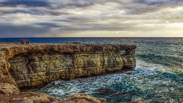 Sea Caves, Coast, Sea, Sky, Clouds, Storm, Afternoon