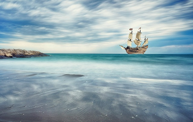 Sailing Vessel, Coast, Sea, Ship, Maritime, Seashore