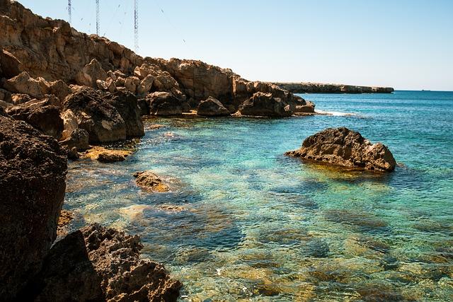 Sea, Beach, Cyprus, Travel, Island, Coast, Blue Sea