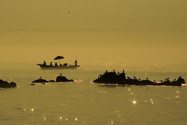 Coastal, Island, Fishing Boat, Sun Mu, Sea, Fishing