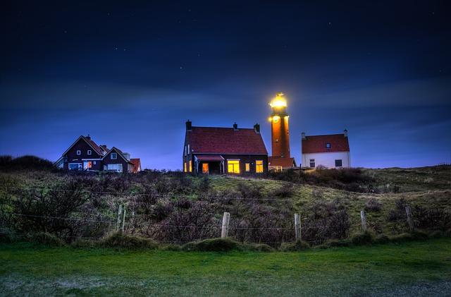 Lighthouse, Coastal, Light, Sea, Beacon, Ocean