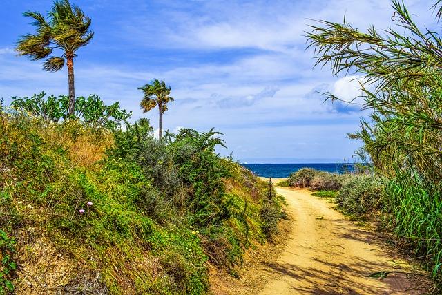 Coastal Path, Landscape, Scenery, Trail, Countryside