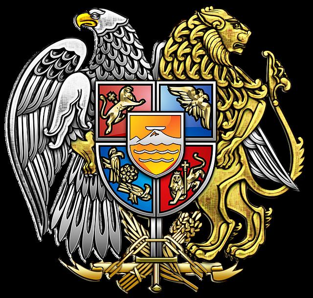Armenia, Coat Of Arms, Heraldry, Emblem