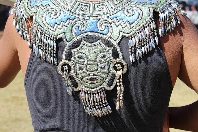 Aztec, Indian, Coat Of Arms, Apache, Feathers, Colors