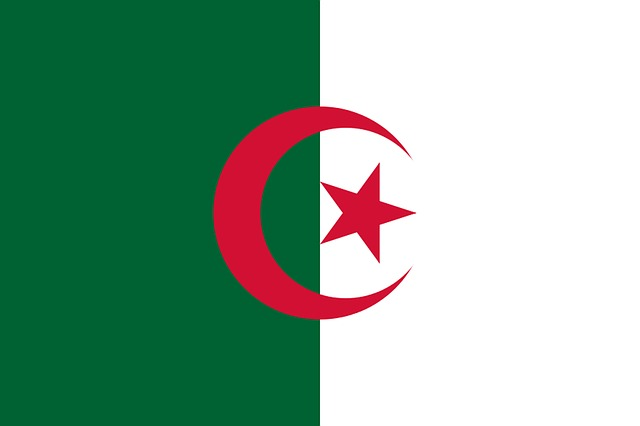Algeria, Flag, Land, Coat Of Arms, Characters