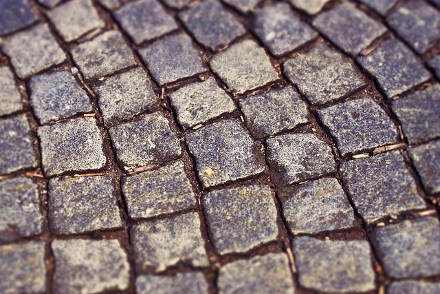 Cobblestones, Paving Stones, Stones, Away, Grey