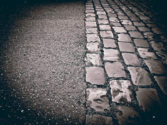 Cobblestones, Road, Paving Stones, Ground, Pavement