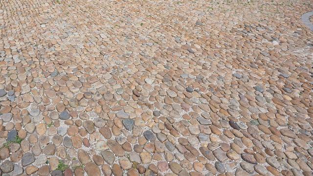 Cobblestones, Road, Away, Read Stone Paving