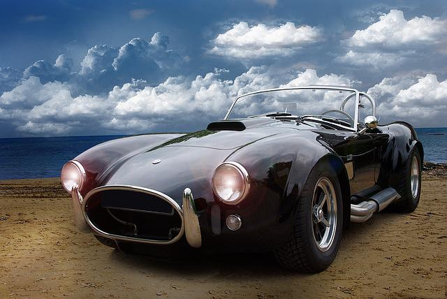 Auto, Oldtimer, Cobra, Car, Transport, Classic