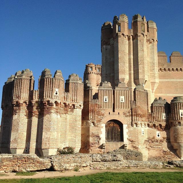 Castle, Medieval, Coca, Segovia, Stones, Fortress