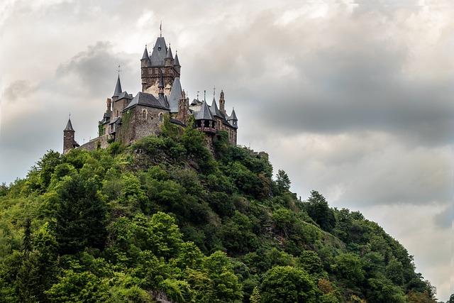 Cochem, Mosel, Sachsen, Germany, Castle