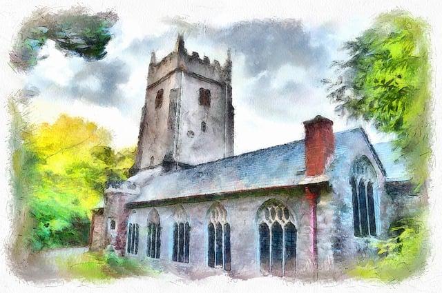 Cockington Church, Church, Old, Cockington, Religion