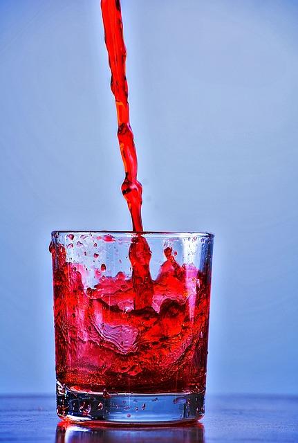 Juice, Water, Splash, Refreshment, Beverage, Cocktail