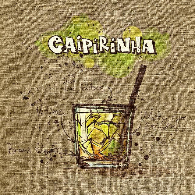 Caipirinha, Cocktail, Tissue, Fabric, Drink, Alcohol
