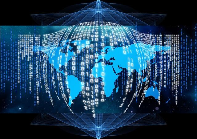 Binary, Code, Globe, Africa, Continents, Computer