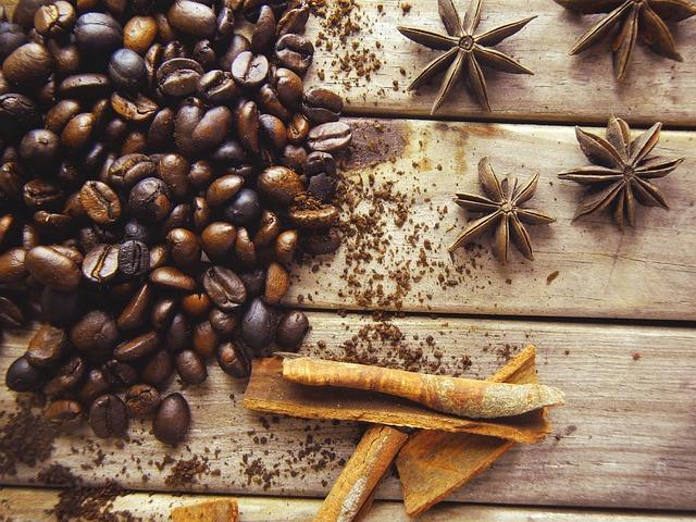 Coffe, Coffee, Cinnamon, Anis, Aromas