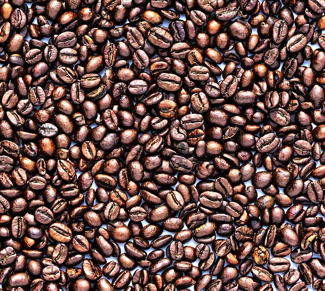 Coffee, Coffee Beans, Background, Texture, Pattern
