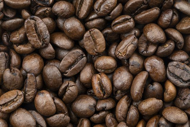 Coffee, Beans, Coffee Beans, Roasted, Caffeine, Brown