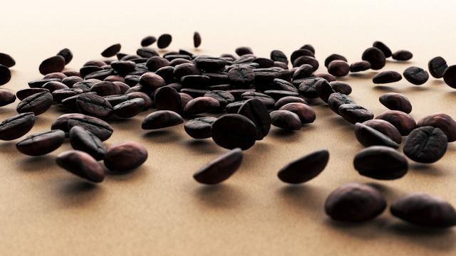 Coffee, Grain, Coffee Beans, Roasted Coffee, Closeup