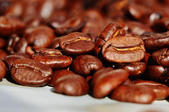 Coffee Beans, Coffee, Roasted, Caffeine, Beans
