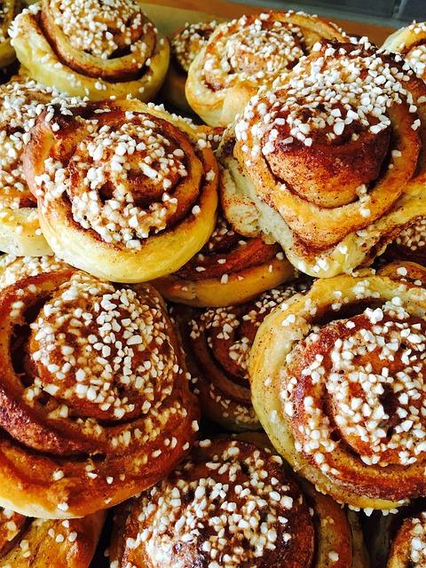 Cinnamon Buns, Pastries, Coffee Break, Good