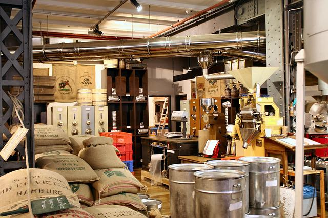 Coffee Roasting, Bags, Coffee Bags, Coffee, Hamburg