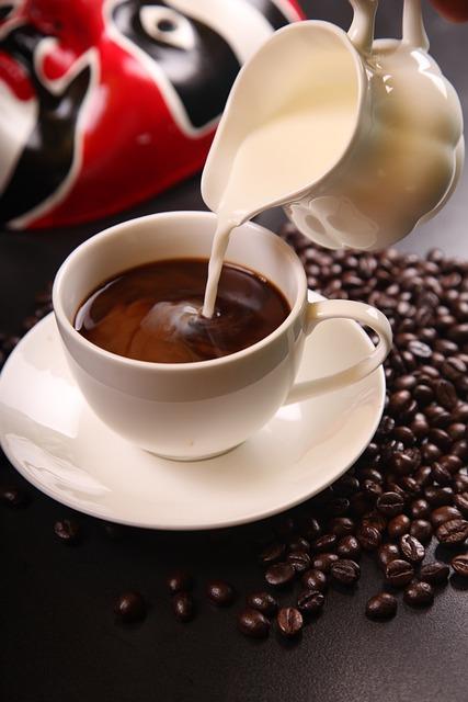 Coffee, Coffee With Milk, Coffee Beans