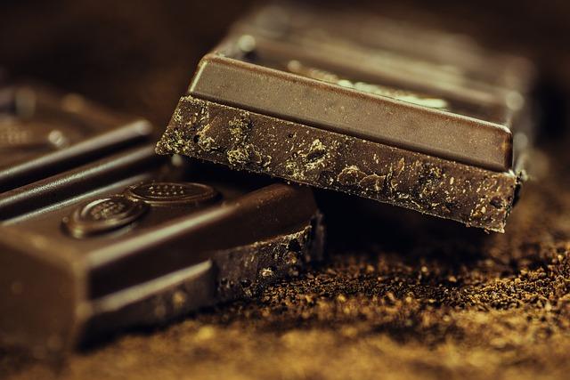 Chocolate, Dark, Coffee, Confiserie, Dark Chocolate