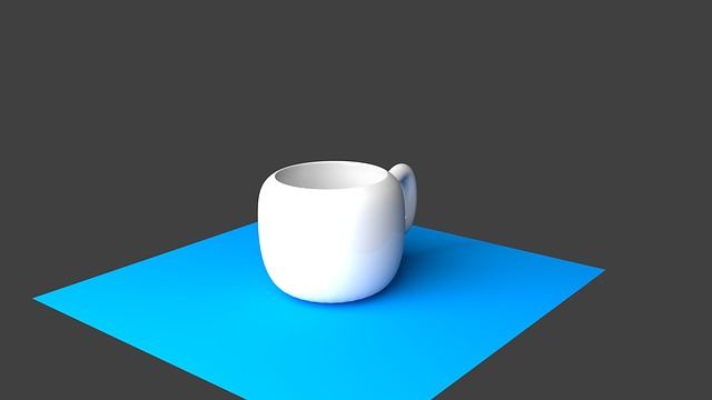 Coffee Cup, Cup, Porcelain, Ceramic, Animation