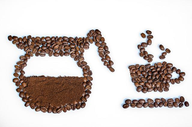 Still Life, Coffee Beans, Coffee Powder, Coffee Cup