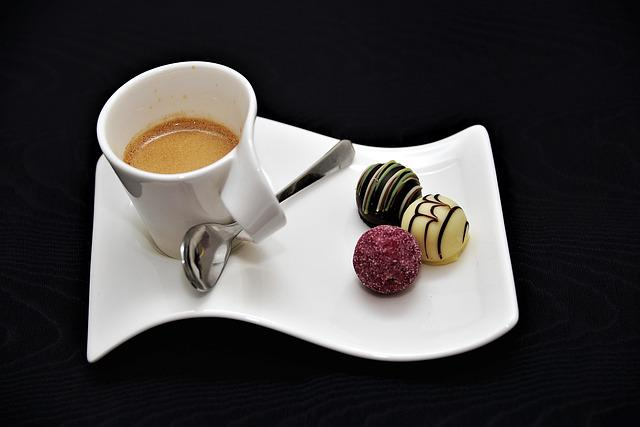 Espresso, Coffee, Chocolates, Cup