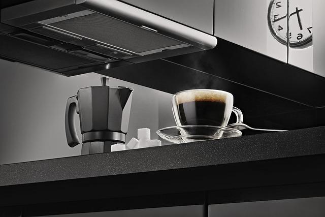 Clock, Coffee, Coffee Maker, Cup, Dark, Espresso