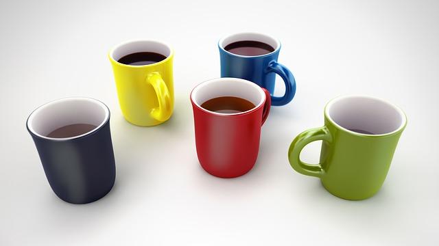 Coffee, Tee, Cocoa, Cup, Break, Drink, Porcelain