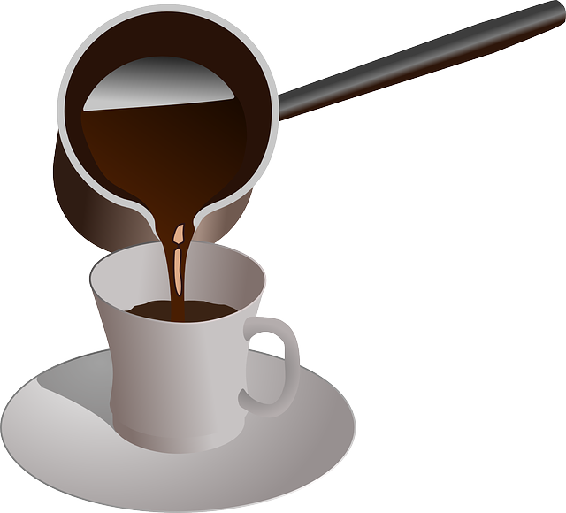 Coffee, Cup, Serving, Breakfast, Pour, Chocolate, Drink