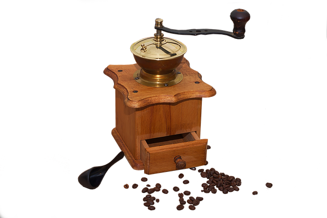 Coffee, Caffeine, Vintage, Mill, Retro, Holzmühle