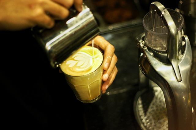 Coffee, Coffee Shop, Latte Art