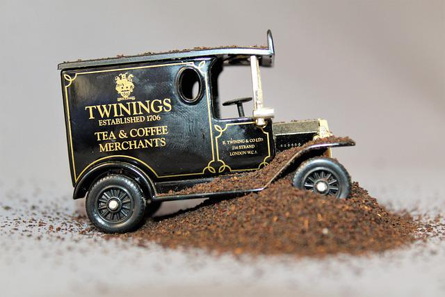 Tea-boned, Tea Truck, Tea, Truck, Coffee, Car, Wheel