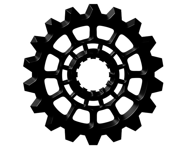 Gear, Cog, Machine, Cogwheel, Mechanism, Industrial