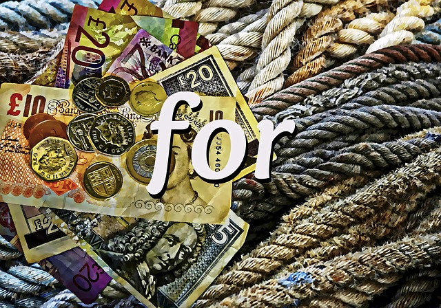 Money, Old Rope, Rope, Wealth, Pound Notes, Coins