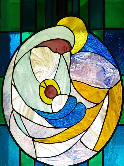 France, Savoie, Col Of Seizures, Stained Glass