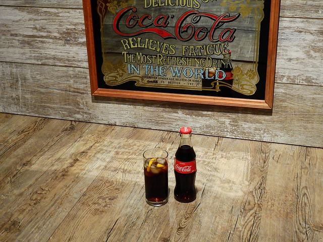 Coca Cola, Cola, Coke, Advertisement, Mirror, Old