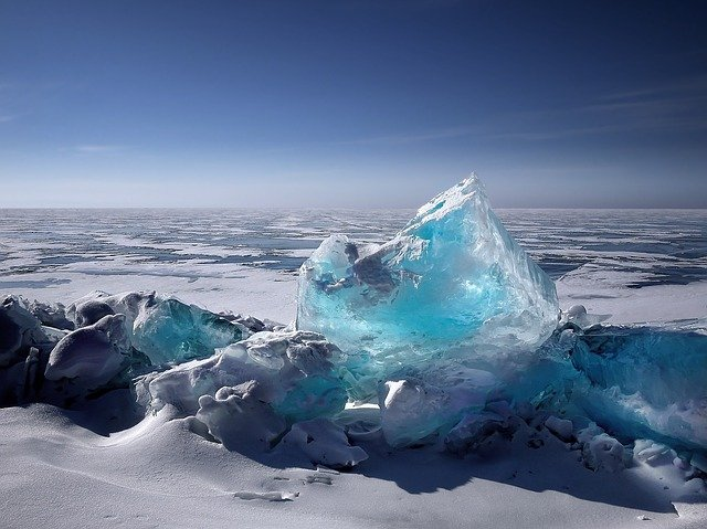 Ice, Iceberg, Ice Floes, Winter, Cold, Frost, Wintry