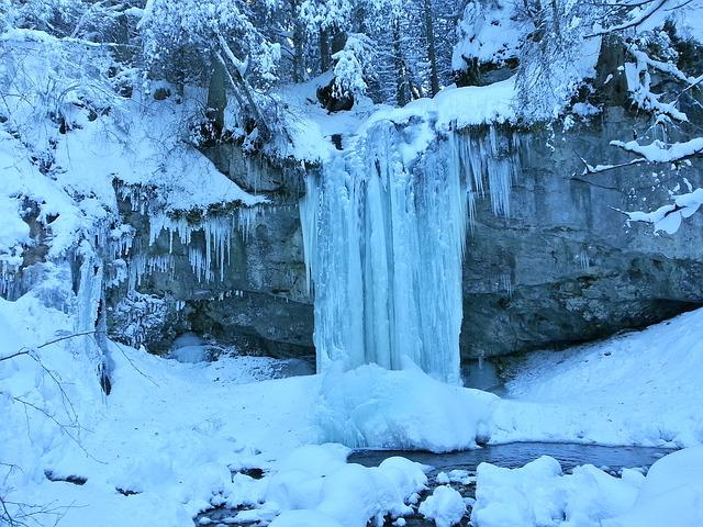 Ice Climbing, Nature, Winter, Snow, Landscape, Cold