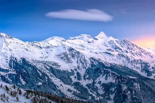 Cold, Landscape, Mountain, Mountain Peak, Nature