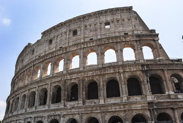 Italy, Rome, Coliseum