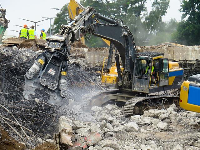 Crash, Demolition, Destroyed, Ruin, Collapse
