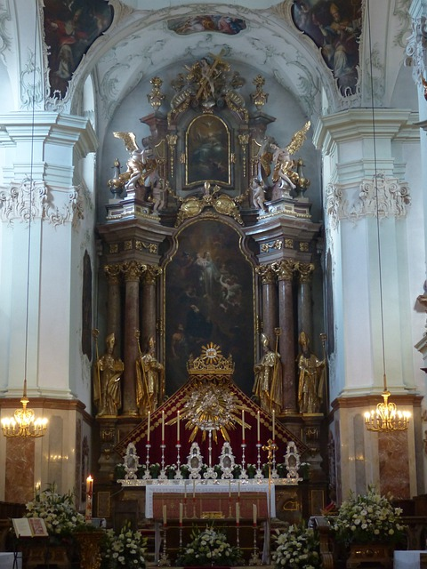 Collegiate Church Of St Peter, Salzburg, Roman Catholic