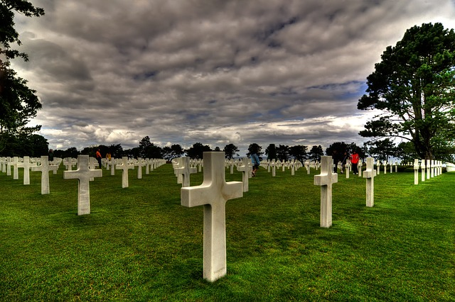 Colleville-sur-mer, Cemetery, D-day, United States