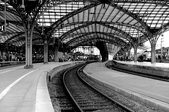 Cologne Main Station, Train, Cologne, Central Station